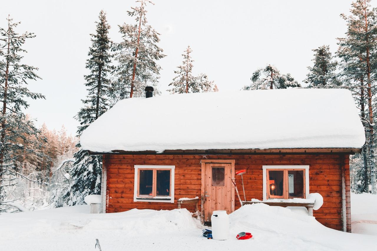 Sne på taget